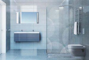 Printed shower screen design