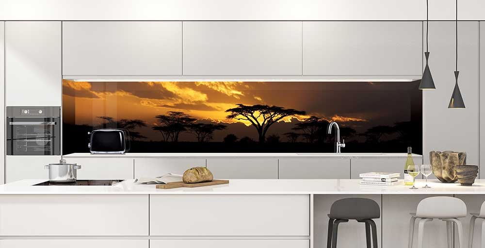 African Safari Photo Splashback