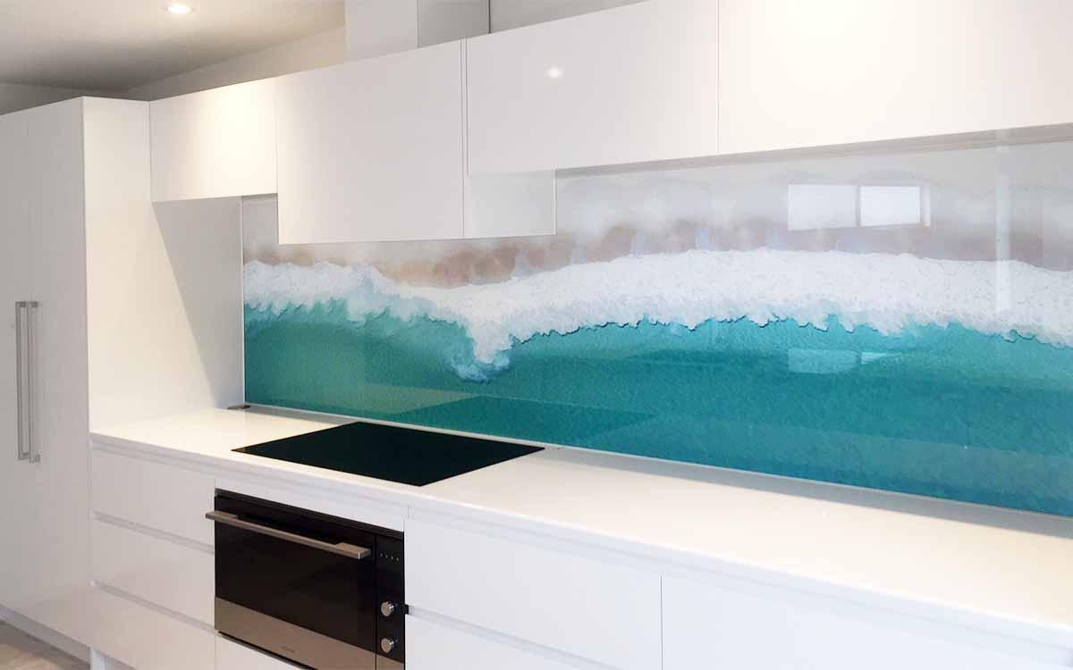 Digitally Printed Glass Splashbacks Perth